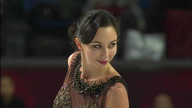 Туктамышева смазала тройной аксель, но все равно услышала от тренера: «Ты – богиня!»