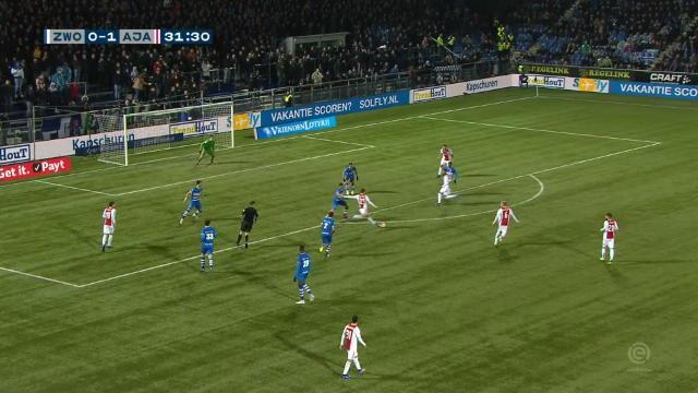 Le numéro en solo signé du courtisé de Jong pour l'Ajax
