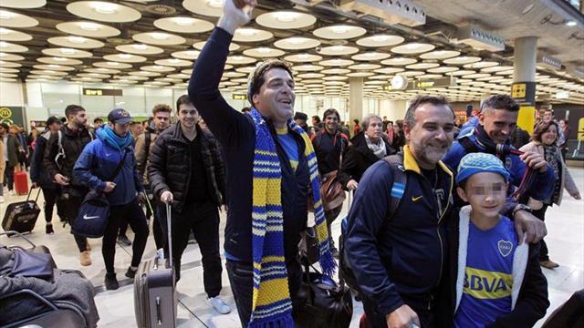 Aficionado detenido por atacar al autobús de Boca Juniors fue liberado