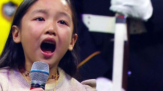 7-Jährige schmettert US-Hymne beim MLS-Finale - und das Stadion kocht