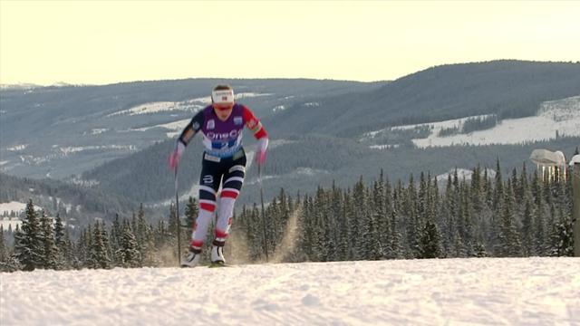 Noorse vrouwen snelste op de 4x5 kilometer