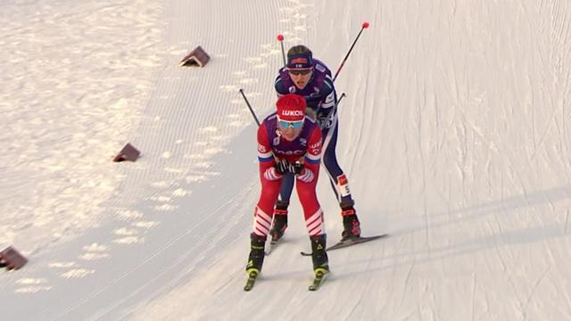 Две команды России бились за места в тройке, но Нечаевская упала на спуске и профукала медаль