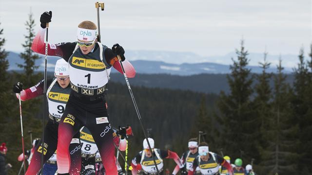 Twee op een rij voor Bø na spectaculaire finale