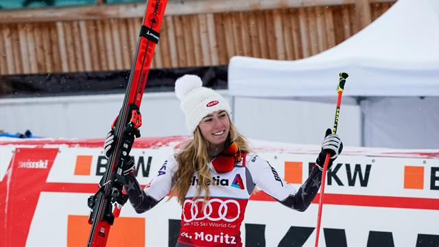 Shiffrin beats Vlhova in parallel slalom final