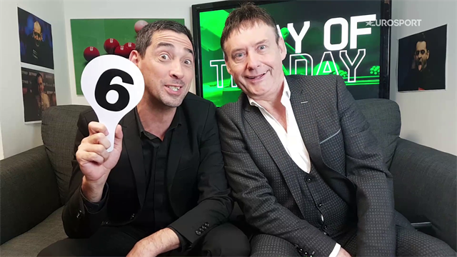 Play of the Day: Ronnie magic and wonky table too much for Allen