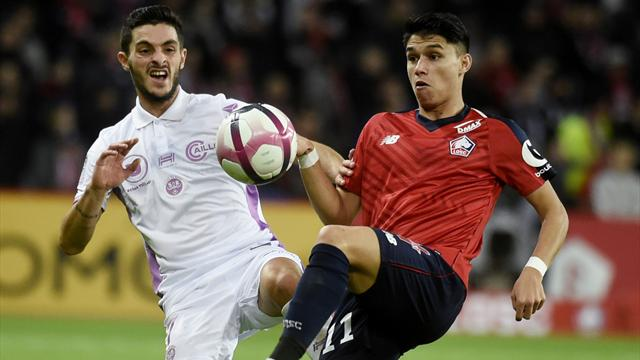 Late penalty gives Lille share of points against Reims