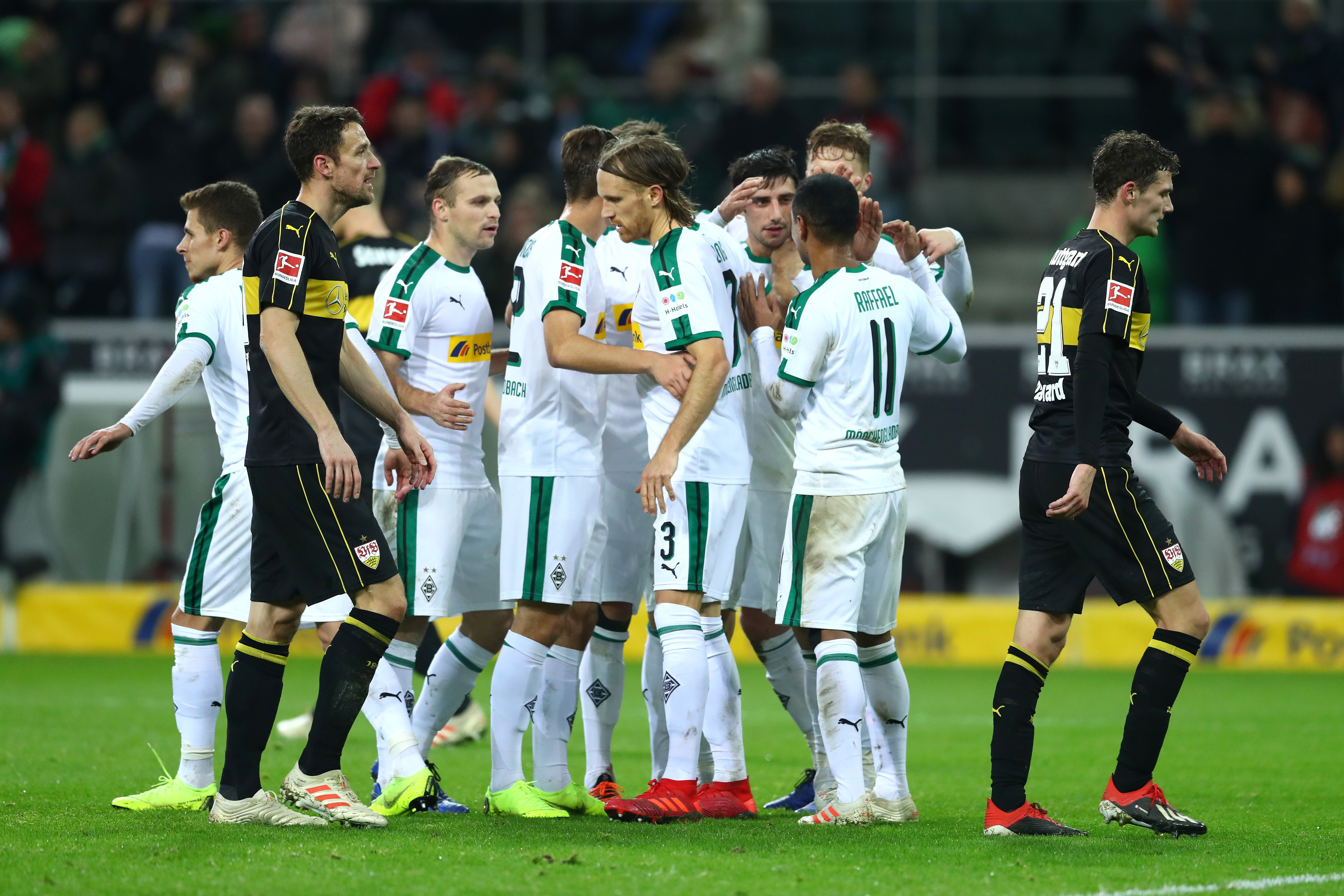 Benjamin Pavard lors de Borussia Mönchengladbach-Stuttgart / Bundesliga