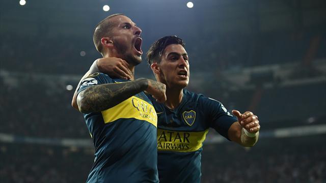 Benedetto sätter Boca i förarsätet