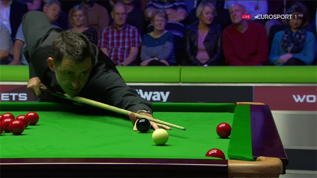 O'Sullivan nicks frame with outstanding clearance