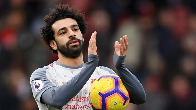Modeste malgré un triplé, Salah est un de nos héros du week-end