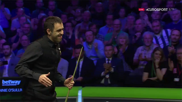 WATCH - Full frame of O'Sullivan title-winning break