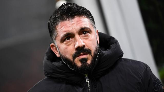 """Gattuso: """"Qualche mese fa avremmo perso questa gara. Mercato? Ci sono Leonardo, Maldini, Gazidis..."""""""