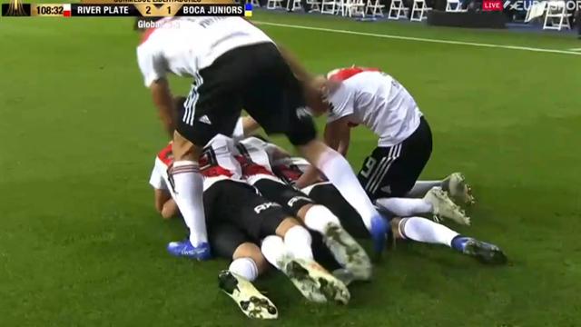 River Plate smäller in ledningsmålet - i den 109:e minuten