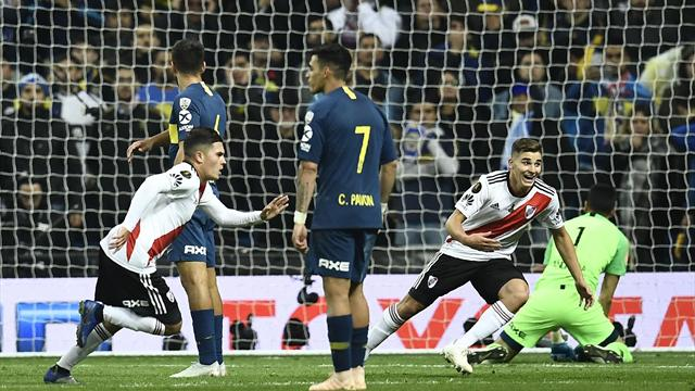 Höjdpunkter: River vann superderbyt i Madrid