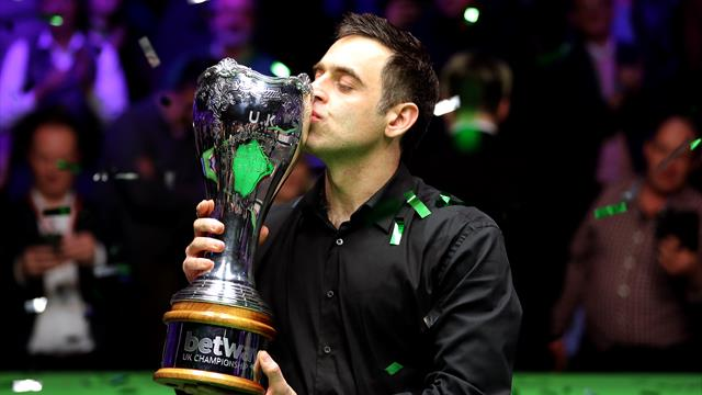 Is G.O.A.T. Ronnie O'Sullivan getting even better?