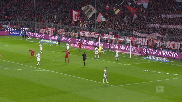 14e j. - Ribéry marque le troisième et dernier but du Bayern