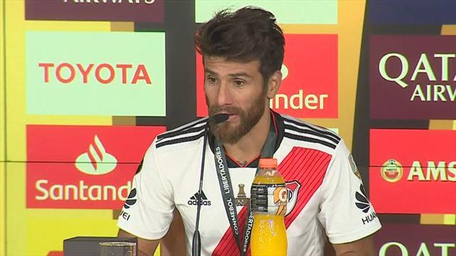 """Ponzio, capitán de River: """"Hemos marcado una época que resalta lo que somos como grupo"""""""