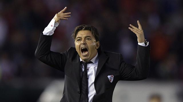 Marcelo Gallardo, héroe de River tras conseguir su tercera Libertadores para un palmarés de ensueño