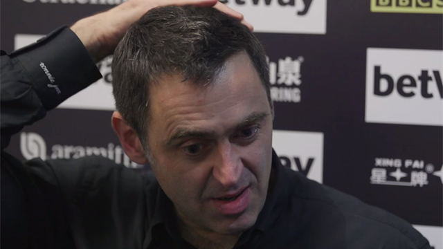 Ronnie O'Sullivan: I'm 'the people's player'