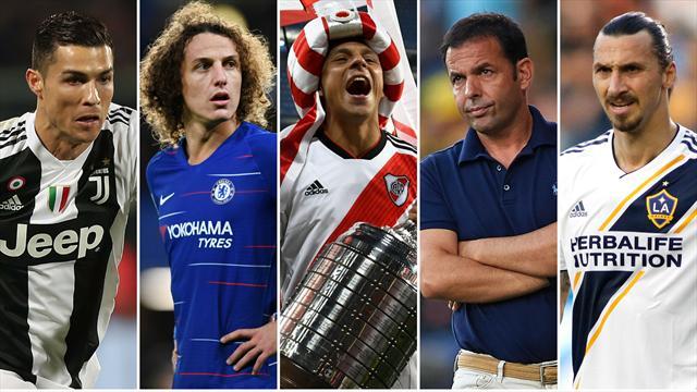 Cristiano Ronaldo, David Luiz, River Plate, Calleja e Ibrahimovic, los nombres del día
