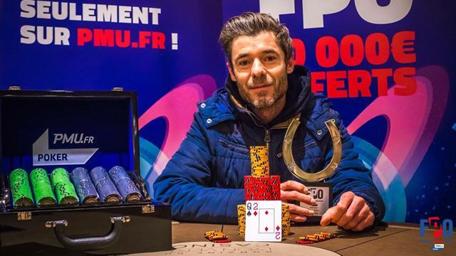 Guillaume Pouillart remporte le Main Event du France Poker Open Lyon