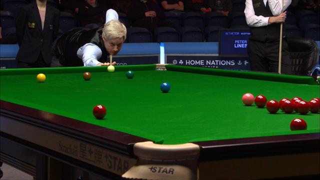 Scottish Open: Neil Robertson emboca una bola larga complicadísima con apoyo en banda