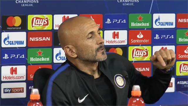 """Uragano Spalletti: """"Pensiamo al PSV, se no quelli del Barcellona si offendono"""""""