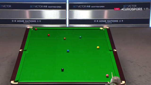 John Higgins attempts remarkable trick shot at Scottish Open