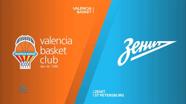 EuroCup highlights: Valencia Basket v Zenit St Petersburg