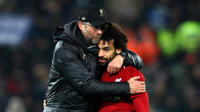 """Klopp : """"Nous ne prendrons pas de risques avec Salah"""""""