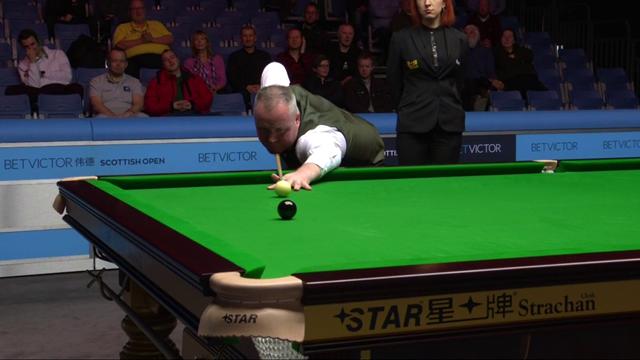 Scottish Open: John Higgins logra el noveno 147 de su carrera