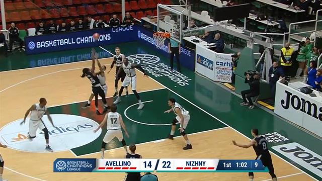 Highlights: Sidigas Avellino-Nizhny Novgorod 71-92