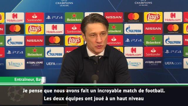 """Groupe E - Kovac : """"Un incroyable match de football"""""""