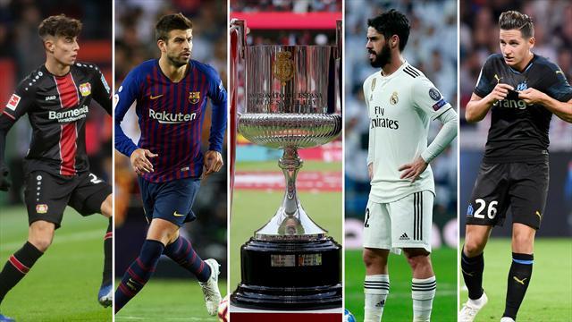 Havertz, Piqué, el sorteo de octavos de Copa del Rey, Isco y Thauvin, los nombres del día