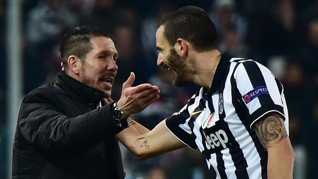 Bonucci sufre un esguince de tobillo y es seria duda para jugar contra el Atlético en Champions