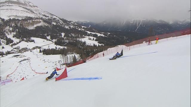 Mastnak crushes Karl in Carezza parallel giant slalom