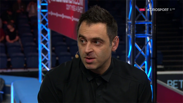 Ronnie reveals crowd abuse which 'crossed the line' at UK Championship