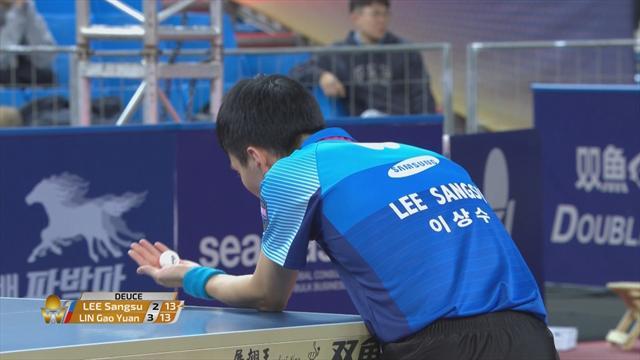 World Tour Finals: Lin beats Lee in Incheon