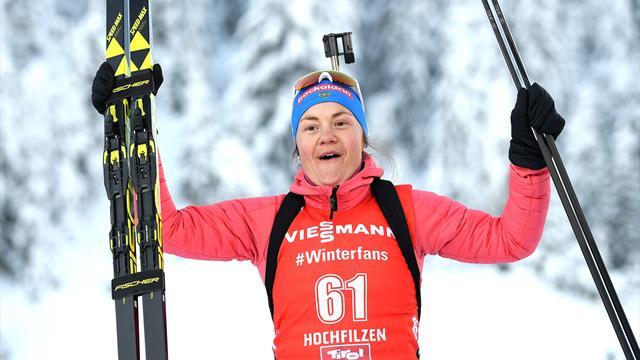 Женская сборная России впервые за 7 лет выиграла золото в эстафете