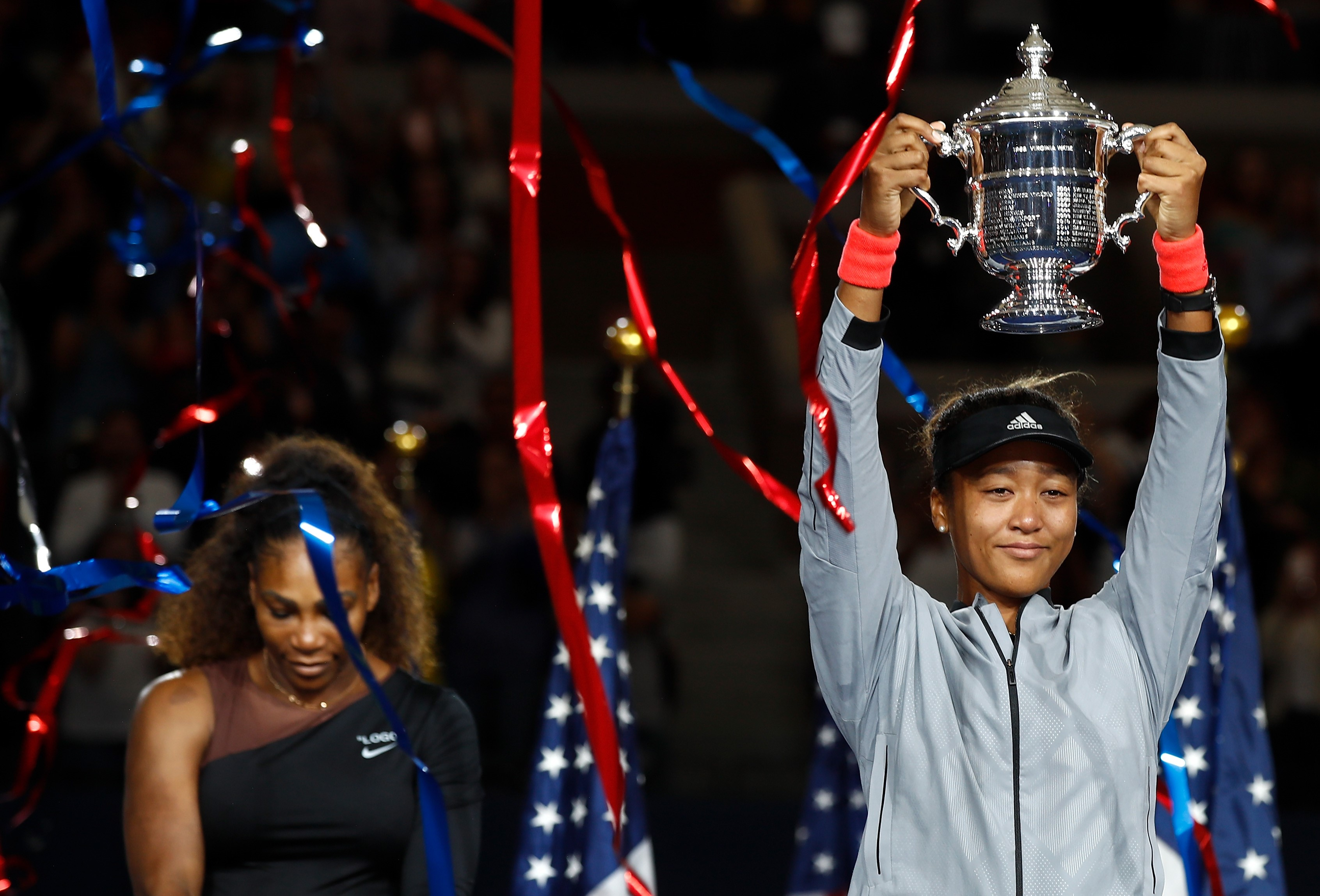 Picture of the year - September 2018 - Tennis - Naomi Osaka wins US Open