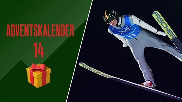 Adventskalender | Wellinger holt sensationell Olympia-Gold