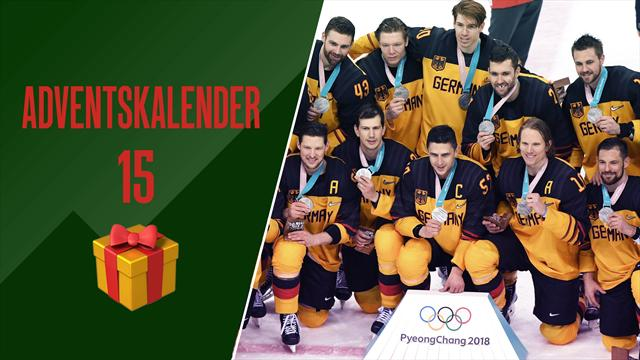 Adventskalender | 56 Sekunden fehlen DEB-Team zum Olympiasieg