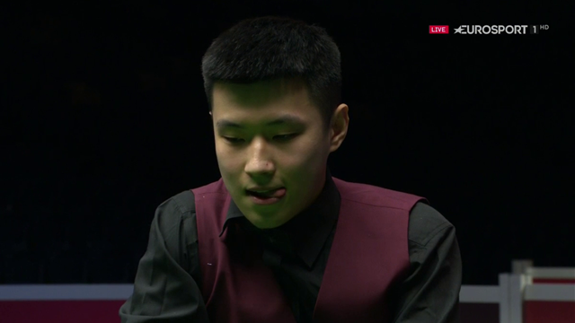 Zhao Xintong suffers brutal bad luck in Scottish Open exit