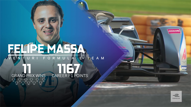 Massa aware of 'competitive' grid ahead of Formula E debut