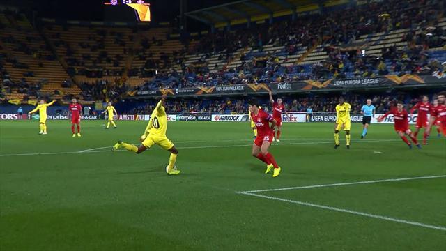 Höjdpunkter: Villarreal vidare efter seger mot Spartak Moskva