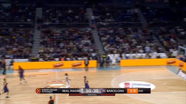 WATCH - INCREDIBLE full court shot from Campazzo in El Clasico