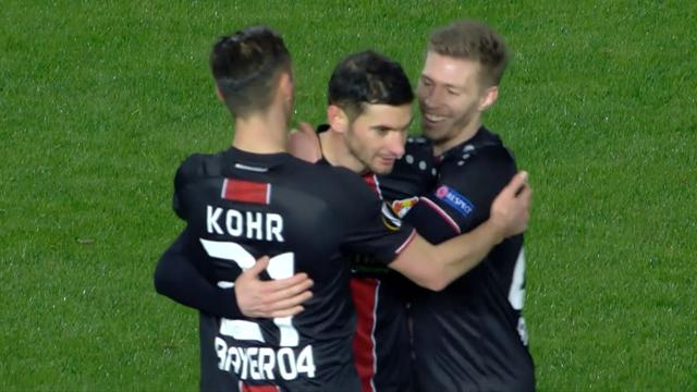Höjdpunkter: Leverkusen tog storseger på bortaplan