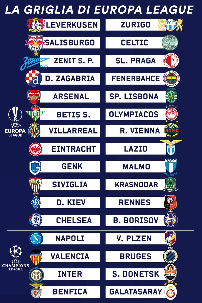 Liga europa 2020 2020