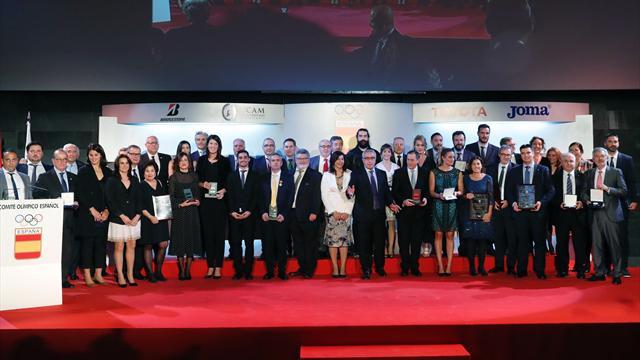 Mireia, Craviotto, Sánchez, Navarro, Beitia, Valentín, Regino o Javi Fernández, premiados por el COE