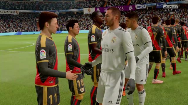 Liga Virtual: Así ha quedado el Madrid-Rayo